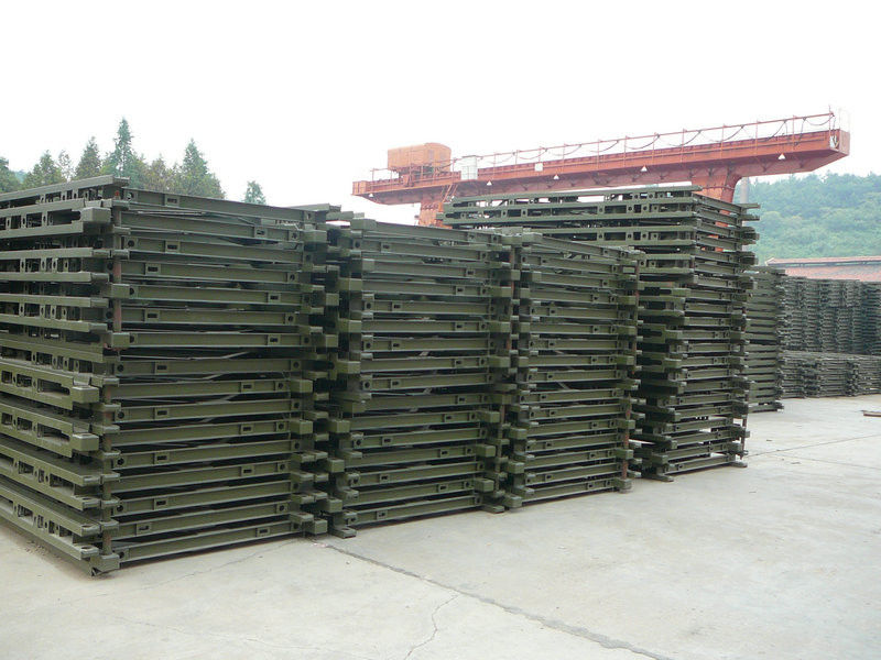 Compact Bailey Bridge / Portable Steel Bridge / Deck Truss Bridge